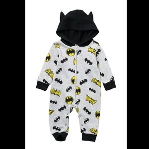 HOODED BATMAN COVERALL